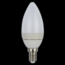 Ecola Light candle LED 3,7W 220V E14 2700K свеча в магазине altsvetspb.ru